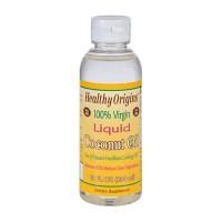 Healthy origins coconut oil liquid 100 percent virgin - 10 oz