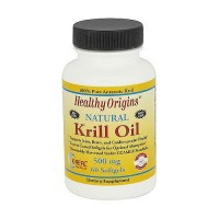 Healthy Origins Natural 500 mg Krill Oil Softgels - 60 ea