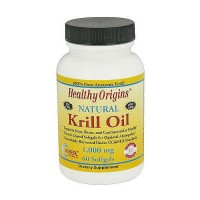 Healthy Origins 1000 mg Natural Krill Oil Softgels - 60 ea