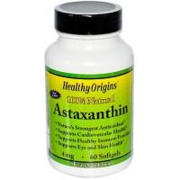 Healthy origins astaxanthin 4mg - 60 ea