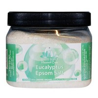 White egret personal care eucalyptus epsom salt - 16 oz