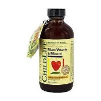 ChildLife Multi Vitamin And Mineral Formula, Orange And Mango - 8 oz
