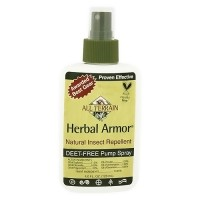 All Terrain Natural Herbal Armor insect repellent spray - 4 oz