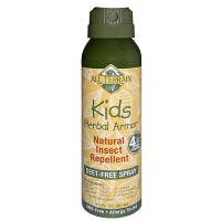 All Terrain Kids Herbal Armor Continuous Deet Free Spray - 3 oz
