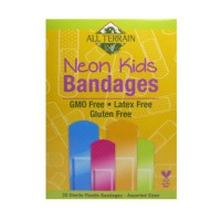 All Terrain bandages neon kids assorted - 20 ea