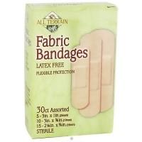 All Terrain sterile fabric assorted bandages, Latex Free - 30 ea