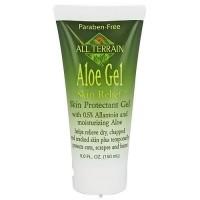 All Terrain aloe gel skin relief, Skin protectant gel - 5 oz