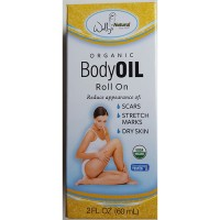 Wally's natural organic body oil - 2 oz