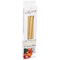 Wallys Natural Herbal Beeswax Candles - 4 ea