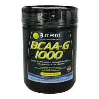 MRM bcaa plus g 1000, lemonade - 2.2 lbs