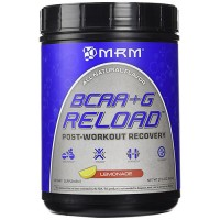 MRM all natural bcaa plus g reload post workout recovery, lemon - 29.6 oz
