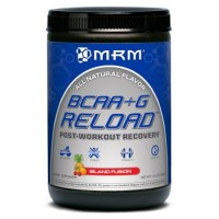 MRM all natural bcaa plus g reload post workout recovery, island fusion - 11.6 oz