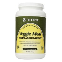 MRM natural veggi meal replacement, vanilla bean - 3 lbs
