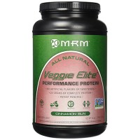MRM all natural veggie elite protein, cinnamon bun - 36 oz