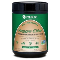 MRM All Natural Veggie Elite Protein, Chocolate Mocha - 19.6 oz