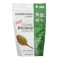 MRM Raw Organic Baobab Fruit Powder - 8.5 Ounce