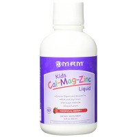 MRM kids cal-mag-zinc liquid, tropical berry - 16 oz