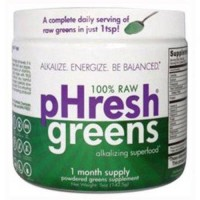 Phresh products phresh greens raw alkalizing superfood ? 1 month supply - 5 oz
