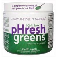 Phresh products phresh greens raw alkalizing superfood ? 1 month supply - 5 oz