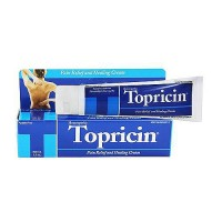 Topricin CTS (Carpal Tunnel Syndrome) Pain Relief Cream - 2 Oz Tube