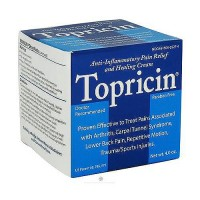 Topricin cts (carpal tunnel syndrome) anti-inflammatory pain relief cream, jar - 4 oz