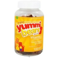 Yummi Bears gummies with vitamin C - 132 ea