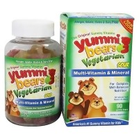 Hero Nutritionals Yummi Bears Multi-Vitamin - 90 Vegetarian Gummies