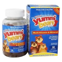 Yummi Bears Complete multi-vitamin and mineral gummies - 90 ea