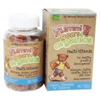 Yummi Bears Organics Complete multi-vitamin and mineral gummies - 90 ea