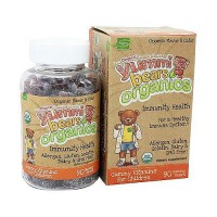 Hero nutritional yummi bears organic, immunity health shield gummies for kids - 90 ea