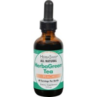 Herbas way Herba green tea, peach - 2 oz