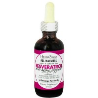 Herbasway resveratrol anti aging support all natural - 2 oz