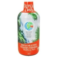 Tropical Oasis Tropical Plus Mega Multi Vitamins and minerals - 32 oz