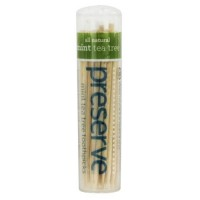 Preserve tea tree mint toothpicks - 35 picks
