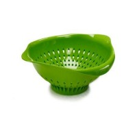 Preserve Large Colander - Green - 1 ea, 4 pack