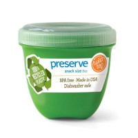 Preserve mini food storage container apple green - 1 ea