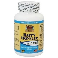 Ark Naturals happy traveler pet calmer capsules - 30 ea