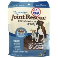 Ark Naturals sea mobility joint rescue venison jerky for dogs - 9 oz