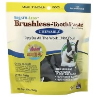 Ark Naturals Breath-Less, Dogs Chewable Brushless Toothpaste - 12 oz