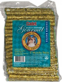 Ims Trading Corporation pet time rawhide munchy sticks - 5 inch/100 pack, 18 ea
