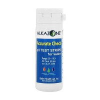Alkazone Accurate Check Water Ph Test Strips - 50 ea