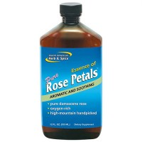 North American Herb And Spice pure rose petals aromatic and soothing - 12 oz