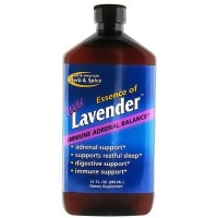North American Herb And Spice wild lavender immune adrenal balance - 12 oz