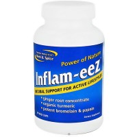 North American herb and spice Inflam-eeZ vegi capsules - 90 ea