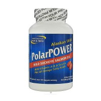 North American herb and spice PolarPower wild sockeye salmon oil capsules - 60 ea