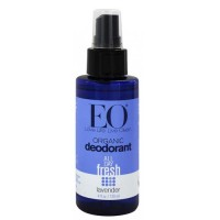 EO Organic Deodorant Spray, All Day Fresh Lavender, Vegan and No Aluminium - 4 oz