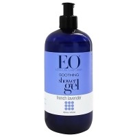 EO Products Soothing Shower Gel, French Lavender - 16 oz