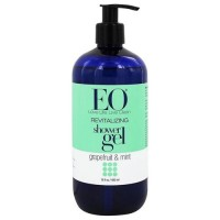 EO Essential Oil revitalizing regenerating complex grapefruit and mint shower gel - 16 oz