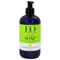EO liquid hand soap with Peppermint and Tea Tree - 12 oz