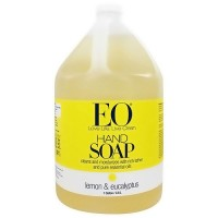 EO Liquid Hand Soap Naturally Gentle with Lemon and Eucalyptus, 128 oz